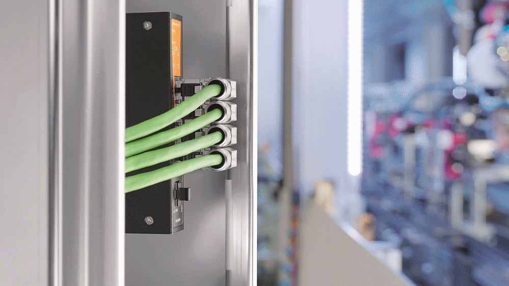 Weidmüller is offering the new RJ45 plug-in connec